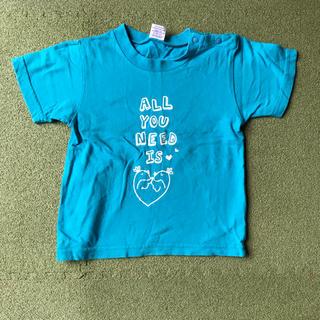 90cm Tシャツ 水色(Tシャツ/カットソー)