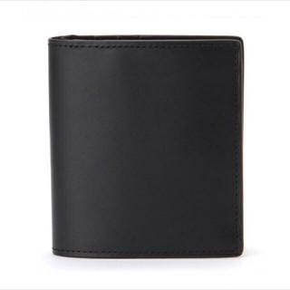ムジルシリョウヒン(MUJI (無印良品))の無印良品 イタリア産ヌメ革 二つ折り財布(折り財布)