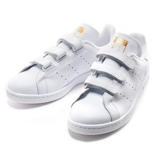アディダス(adidas)の各サイズ有★スタンスミスベルクロゴールド(スニーカー)