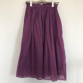 ドットアンドストライプスチャイルドウーマン(Dot&Stripes CHILDWOMAN)のDod & Stripes Child woman 綿100%スカート(ロングスカート)