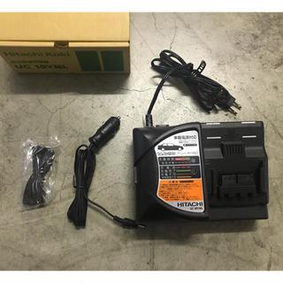 ヒタチ(日立)の廃盤 HITACHI KOKI 急速充電器UC18YML シガーソケット対応(車内アクセサリ)