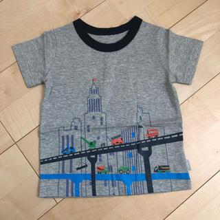 ベルメゾン(ベルメゾン)の☆ベルメゾン 新品未使用 はたらくのりもの 半袖Tシャツ 100cm☆(Tシャツ/カットソー)