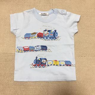ファミリア(familiar)の美品 ファミリア tシャツ 80 ブルー(Tシャツ)
