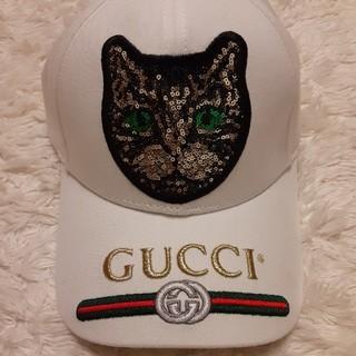 グッチ(Gucci)のGUCCI 猫(キャップ)
