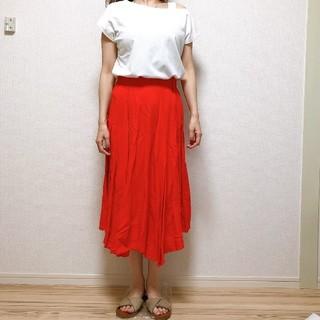 ガリャルダガランテ(GALLARDA GALANTE)のカラーフレアスカート(๑´∀`๑)(ひざ丈スカート)