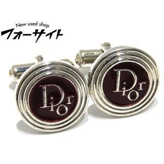 クリスチャンディオール(Christian Dior)のディオール ◇ シルバーカラー ラウンド Diorロゴ カフスボタン(カフリンクス)