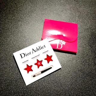 クリスチャンディオール(Christian Dior)のディオール Dior 口紅 リップグロス サンプル 3種(その他)