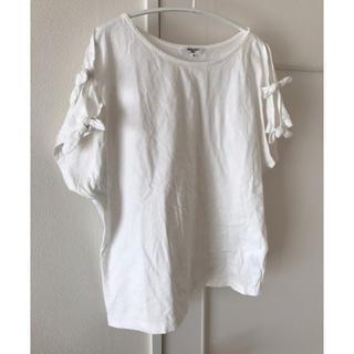 ナチュラルビューティーベーシック(NATURAL BEAUTY BASIC)のナチュラルビューティーベーシック 袖リボンTシャツ(Tシャツ(半袖/袖なし))