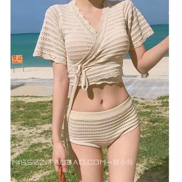 あみあげ水着 レディースの水着/浴衣(水着)の商品写真