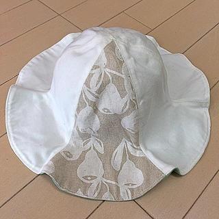 Caramel baby&child  - ハンドメイド チューリップハット  リバーシブル 48cm
