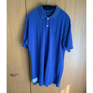 ダブルタップス(W)taps)のDESCENDANT ORCA POLO shirt L blue(ポロシャツ)