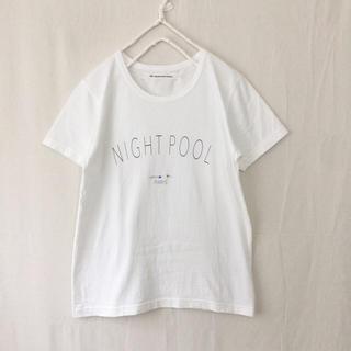 ヤエカ(YAECA)のEEL NIGHT POOL Tシャツ(Tシャツ(半袖/袖なし))