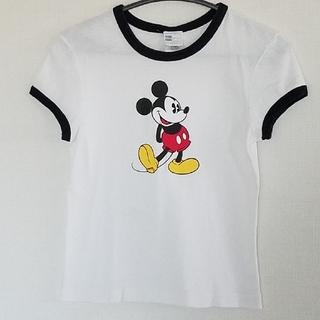 ミッキーマウス(ミッキーマウス)のディズニー ミッキー Tシャツ Msize(Tシャツ(半袖/袖なし))