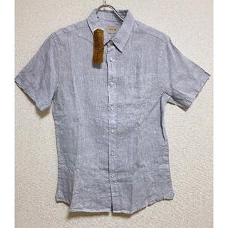 コストコ - タグ付き XLサイズ ★ コストコ JACHS 半袖 リネン シャツ US-L