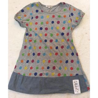 ニードルワークスーン(NEEDLE WORK SOON)の130サイズ ニードルワーク チビ Tシャツ チュニック(Tシャツ/カットソー)