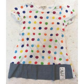 ニードルワークスーン(NEEDLE WORK SOON)の110サイズ ニードルワーク チビ Tシャツ チュニック(Tシャツ/カットソー)