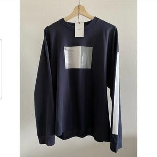 サンシー(SUNSEA)のstein 20ss  oversized long sleeve tee(Tシャツ/カットソー(七分/長袖))