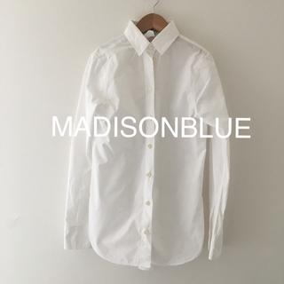 MADISONBLUE - 美品 MADISON BLUE  マディソンブルー  マダムシャツ 白シャツ