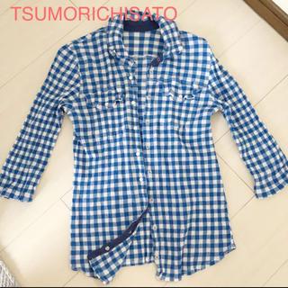 ツモリチサト(TSUMORI CHISATO)のTSUMORICHISATO☆チェックシャツ 美品(シャツ/ブラウス(長袖/七分))