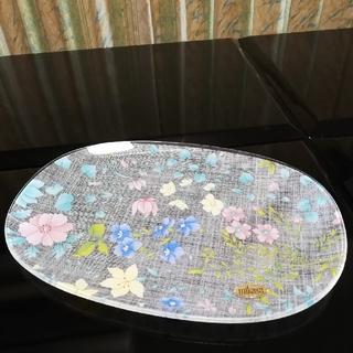 ミカサ ガラスプレート 楕円形皿