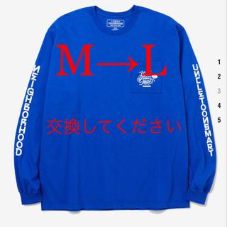 ネイバーフッド(NEIGHBORHOOD)のneighborhood ネイバーフッド M→L 交換求(Tシャツ/カットソー(七分/長袖))