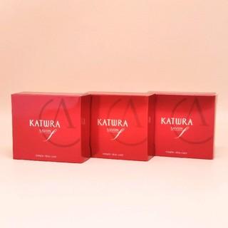 カツウラケショウヒン(KATWRA(カツウラ化粧品))のカツウラ サボン エフ( 石けん )60g 3箱セット(ボディソープ/石鹸)