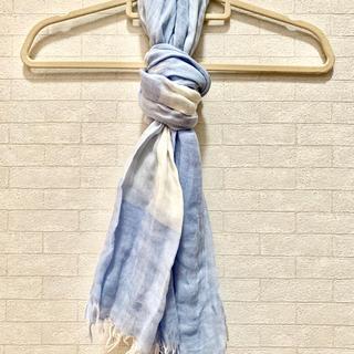 ムジルシリョウヒン(MUJI (無印良品))の無印良品 綿✖️シルク ストール(ストール/パシュミナ)
