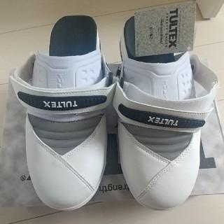 アイトス(AITOZ)のアイトス 安全靴 セーフティサンダル/ホワイト 27〜27.5cm(スリッポン/モカシン)