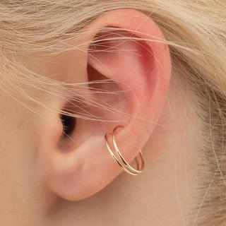 エストネーション(ESTNATION)のHirotaka Double Line Ear Cuff イヤーカフ(イヤーカフ)