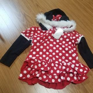 ディズニー(Disney)のタグ付♡ミニーマウスパーカー♡120cm(ジャケット/上着)