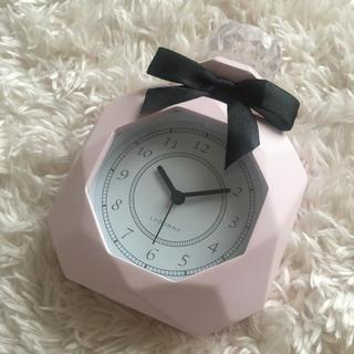 フランフラン(Francfranc)のパヒューム型置時計 置き時計 ラドンナ Cocoonist Flancflanc(置時計)