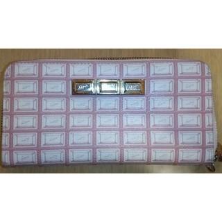 キューポット(Q-pot.)のQ-pot ピンクのチョコレート財布(財布)