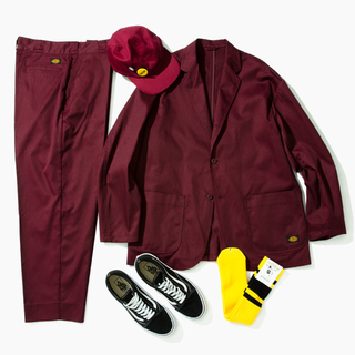 Dickies - Tripster Dickies BEAMS BURGUNDY セットアップ