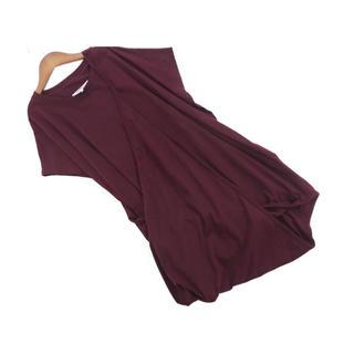 エムエムシックス(MM6)の美品 マルタンマルジェラ MM6 変形 チュニック ワンピース(Tシャツ(半袖/袖なし))