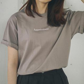 イエナ(IENA)のセール!IENA☆Le Petit Prince ロゴTシャツ B/グレーA(Tシャツ(半袖/袖なし))