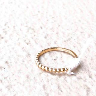 アメリヴィンテージ(Ameri VINTAGE)の(ミサンガリング) moon chaine ring (リング)