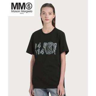 エムエムシックス(MM6)のMM6 MAISON MARGIELA グロー イン ザ ダーク ロゴ Tシャツ(Tシャツ(半袖/袖なし))