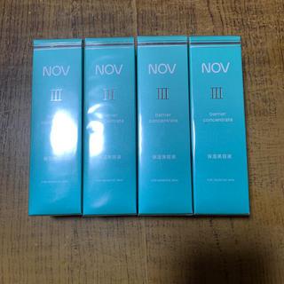 ノブ(NOV)のNOVⅢ 美容液 4本セット(美容液)