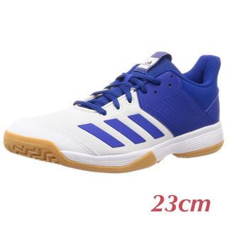 アディダス(adidas)の美品☆バレーシューズ星体育館シューズ(バレーボール)