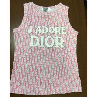 クリスチャンディオール(Christian Dior)のDior タンクトップ(タンクトップ)