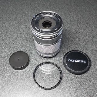 オリンパス(OLYMPUS)のゆん様専用 オリンパス望遠レンズM.ZUIKO 40-150mm R シルバー(レンズ(ズーム))