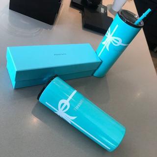Tiffany & Co. - Tiffany & Co.ステンレス鋼断熱二重層カップ本体 超高級ストロ
