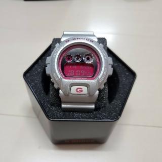 ジーショック(G-SHOCK)の※希少※ CASIO G-SHOCK DW-6900CB シルバー/ピンク(腕時計(デジタル))