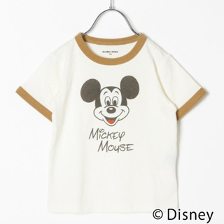 GLOBAL WORK - グローバルワーク ディズニー ミッキーTシャツ 140cm