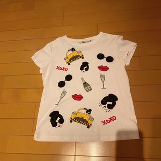 アリスアンドオリビア(Alice+Olivia)のアリス+オリビア tシャツ(Tシャツ(半袖/袖なし))