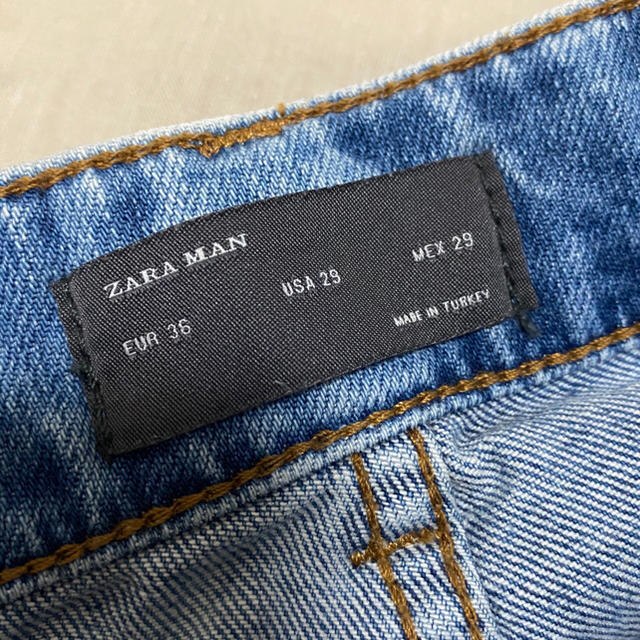 ZARA(ザラ)のダメージジーンズ メンズのパンツ(デニム/ジーンズ)の商品写真
