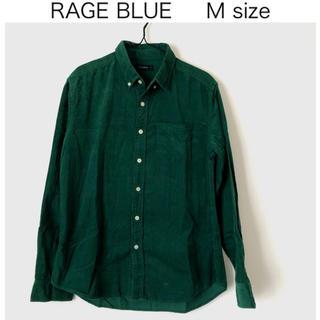 RAGEBLUE - RAGE BLUE✨コーデュロイシャツ