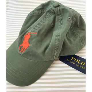 ラルフローレン(Ralph Lauren)のsale 新品 ラルフローレン キャップ キッズ レディース 8-20歳(帽子)