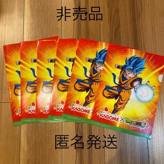 ドラゴンボール(ドラゴンボール)の⭐︎非売品⭐︎新品未使用 ドラゴンボール✖️カゴメ クリアファイル6枚(クリアファイル)
