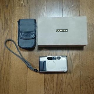 キョウセラ(京セラ)のCONTAX T2 カールツァイス ゾナー 2.8/38 T(フィルムカメラ)